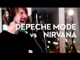 Depeche Mode Nirvana Time for Heroes mashup