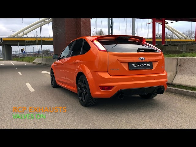 Ford Focus ST 2.5 mk2 | RCP Turbo-Back Exhaust