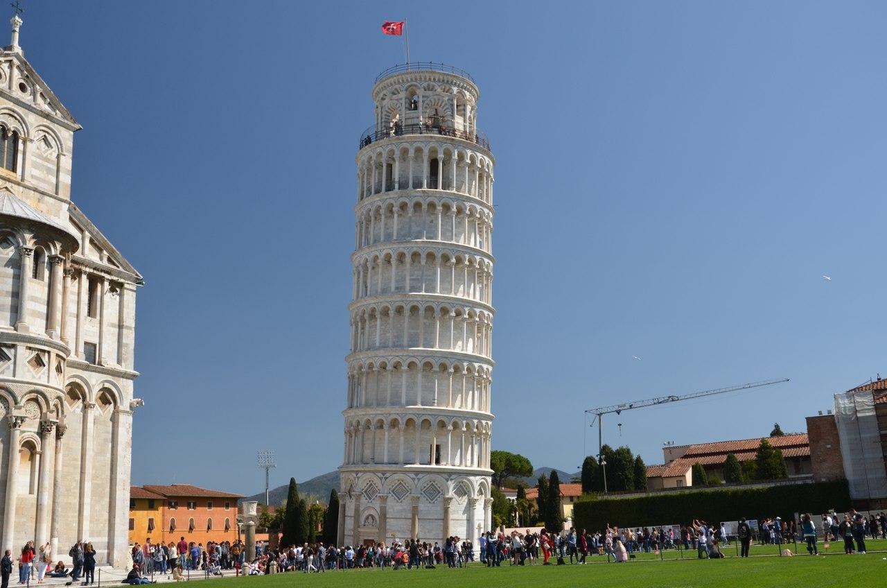 14ZrgtD6iMI Пиза - Падающая башня и не только...