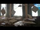 Потолок рухнул на детей в школе
