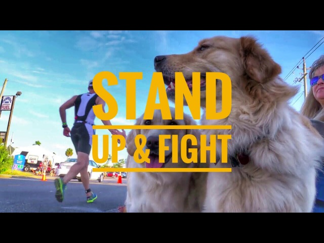 STAND UP AND FIGHT Triathlon Motivation 2017