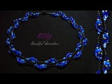 How To Make Designer Necklace At Home DIY Unique Necklace Beaded Necklace