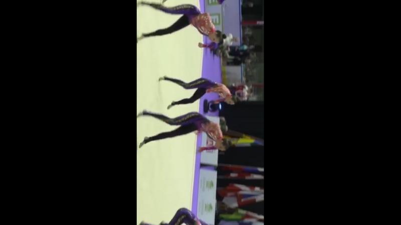 Чемпионат Европы, ритмическая гимнастика