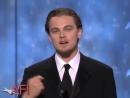 Леонардо ДиКаприо поздравляет Роберта де Ниро с кинонаградой AFI