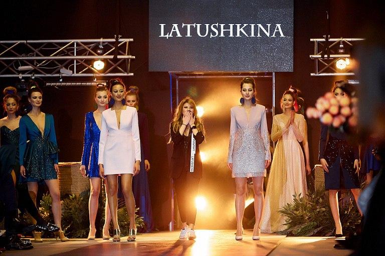 показ модной одежды в Минске - Latushkina (Латушкина)