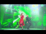 Юлия Савичева и Сергей Лазарев - Moves Like Jagger (Новогодняя ночь на Первом)