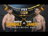 THE ULTIMATE FIGHTER FINAL Andrew Sanchez vs Ryan Janes