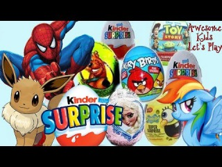 Opening Surprise Eggs NEW 48 Eggs | Unboxing A Lot Of Kinder Surprise Eggs | Sweets & Candies