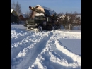 Заезд буровой УРБ 2А2 на участок от ГидроЛайф