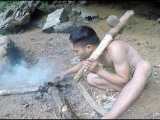 Primitive Skillls Making Stone Axes From The Primitive