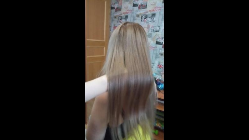 перламутровый блонд