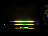 Цветомузыка на адресной сведодиодной ленте под управлением ардуино нано