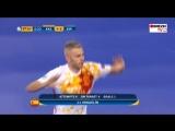 08.02.18 | Чемпионат Европы 2018 | Футзал | Казахстан  - Испания | Miguelín 4-5