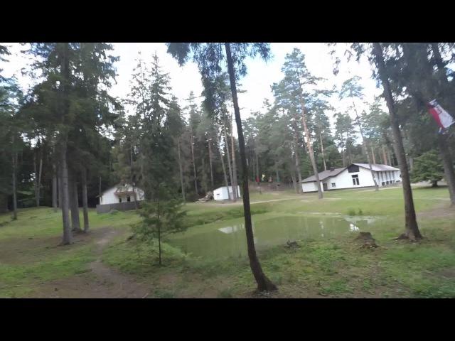 Скоростной спуск Троллей тарзанка 120 м Витебск