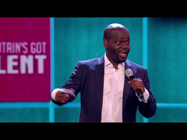 Daliso Chaponda brings the LOLZ for your votes Semi Final 5 Britain's Got Talent 2017