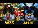 Who is the better Meepo Player EU vs SEA w33 vs Ahjit - Dota 2