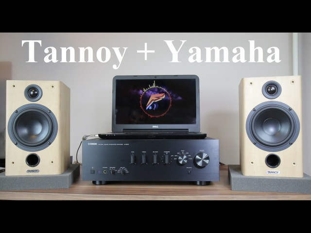 Tannoy Fusion 1 speakers Yamaha A S500 amplifier sound test