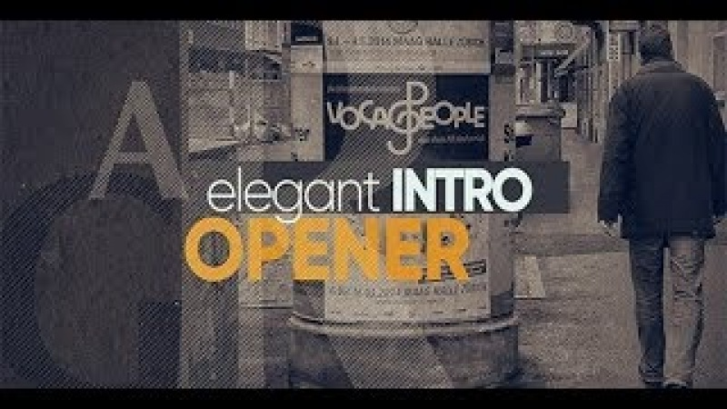 Elegant Opemer Slideshow After Effects Template Videohive