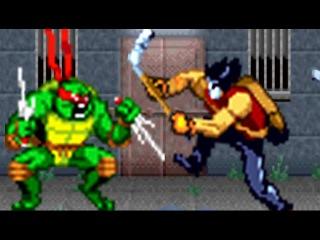 Teenage Mutant Ninja Turtles (GBA) All Bosses (No Damage)