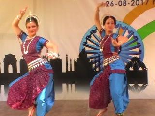 2017. Summer Bazar Embassy of India. Театр индийского танца ОМКАРА. Танец Шанкарварнам паллави