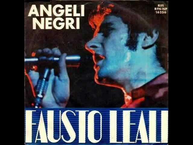 Fausto Leali Angeli negri 1968