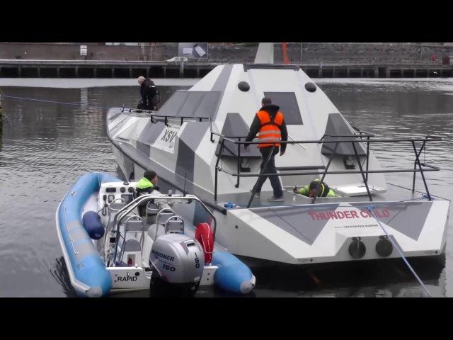 Thunder Child capsize test MP Vimeo
