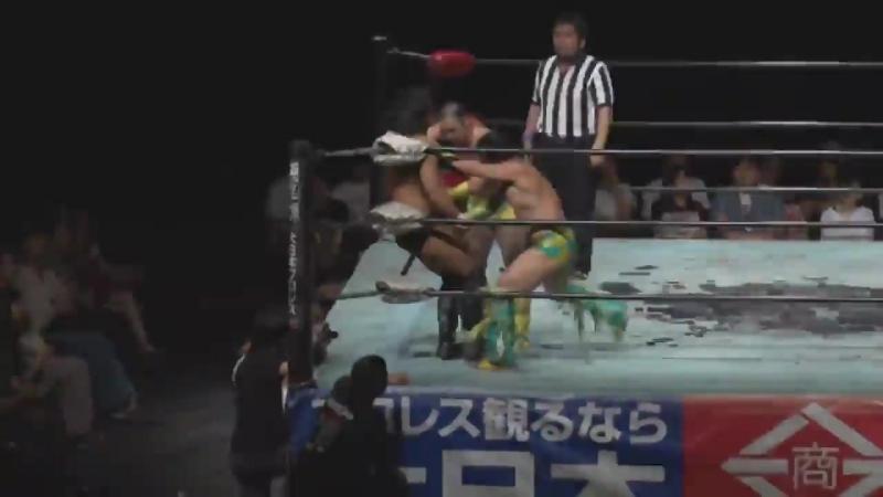 Daisuke Sasaki Tetsuya Endo vs Hercules Senga Tsutomu Oosugi Machida Pro Wrestling Festival Vol 1