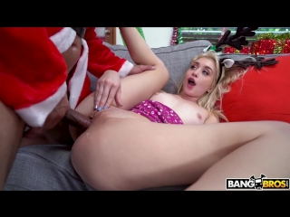 Anastasia knight - blonde and the naughty santa christmas special [all sex, hardcore, blowjob, gonzo]