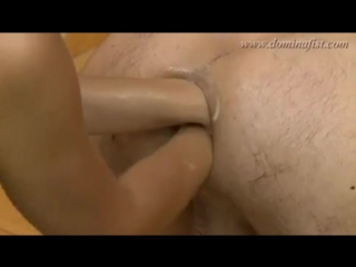 Guy double fisted and footed