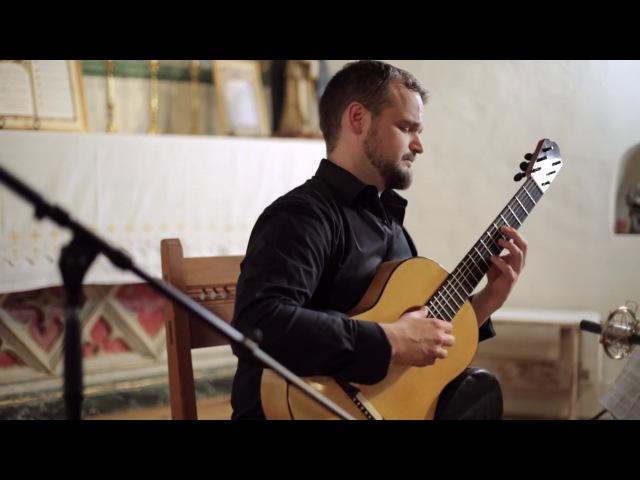 Schindler's List John Williams arr M Palmer performed by Matt Palmer guitar