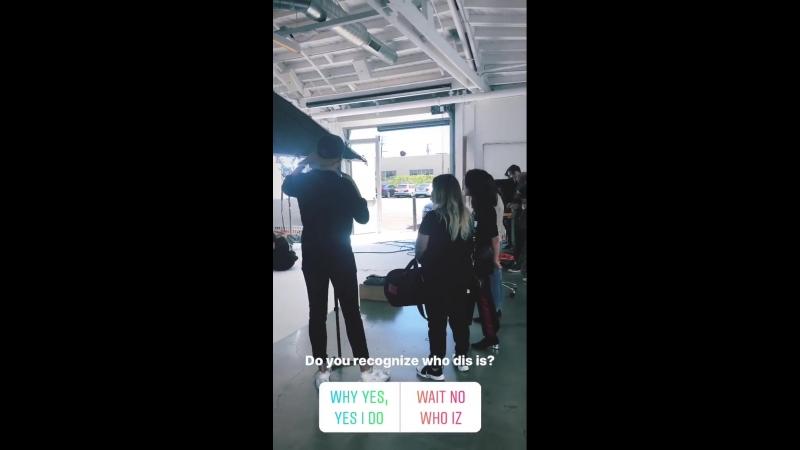 Съемка для интернет портала Byrdie 1 октября 2018