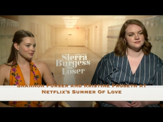 Shannon Purser and Kristine Froseth at Netflixs Summer Of Love