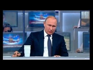 """Владимир Путин провёл 16-ю """"Прямую линию"""" с россиянами"""