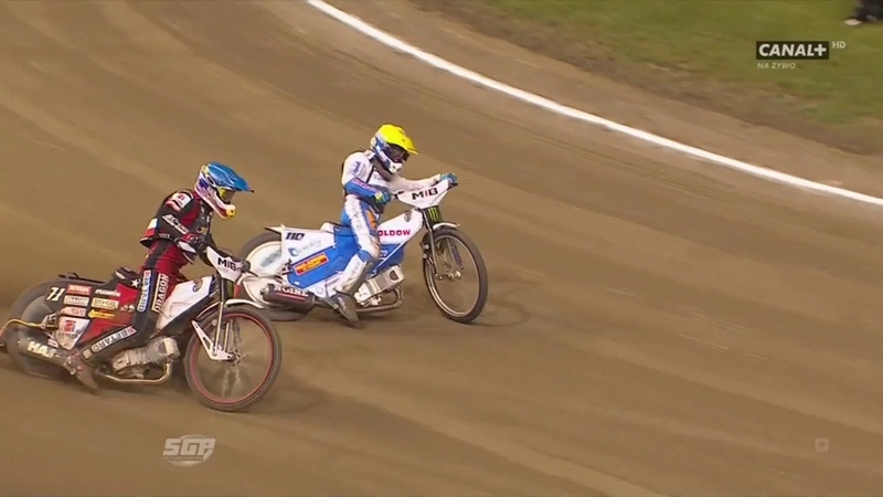 Maciej Janowski vs Nicki Pedersen SGP Gorzów Wlkp