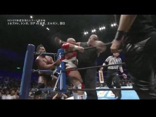 #My1 Sakura Genesis 2018: NEVER Openweight 6-Man Tag Championship Match: Champions Bullet Club (Tama Tonga, Tanga Loa & Bad Lu