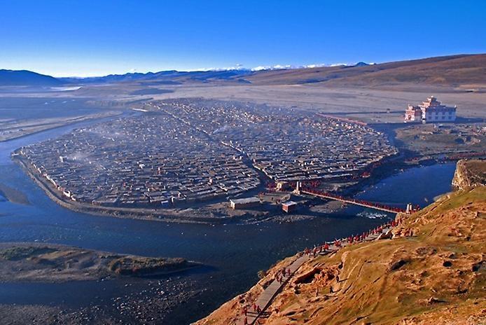 Монастырь Яшен. Тибет, изображение №2