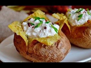 Печёный картофель дома