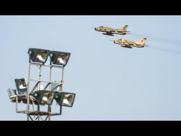 I jet di Haftar fanno acrobazie nei cieli tripolini totalmente indisturbati