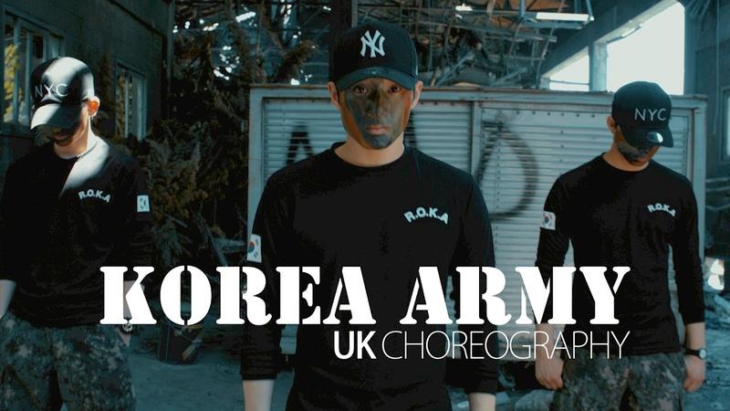 KOREA ARMY   UK PROMOTION DANCE VIDEO   DJ tjaey - Look like you