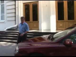Мэр за рулем на улицах Ростова