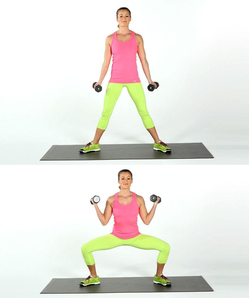 Упражнения с гантелями в домашних условиях, изображение №2