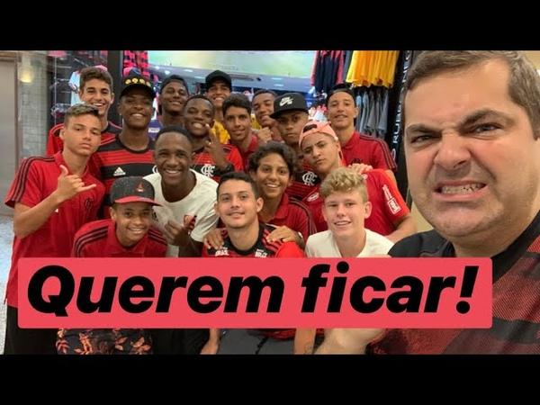 Exclusivo! Eles só querem morar no Ninho! Flamengo já perdeu cinco garotos! Tem mais indo embora!