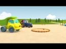 Развивающие мультики про машинки - Синий Трактор Гоша - Лёгкое и тяжёлое, или Застрявший мячик.mp4