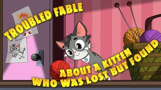 Masha's Spooky Stories - Troubled fable about a kitten who was lost but found (Episode 4)
