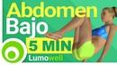 Ejercicios para Abdomen Bajo: Rutina de 5 Minutos para Quemar Grasa Abdominal