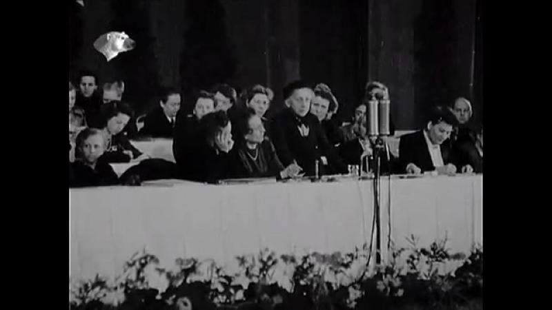 DEFA Augenzeuge 21.3.1947 - vor der AM Konf in Moskau, Leipziger Messe, u.a.