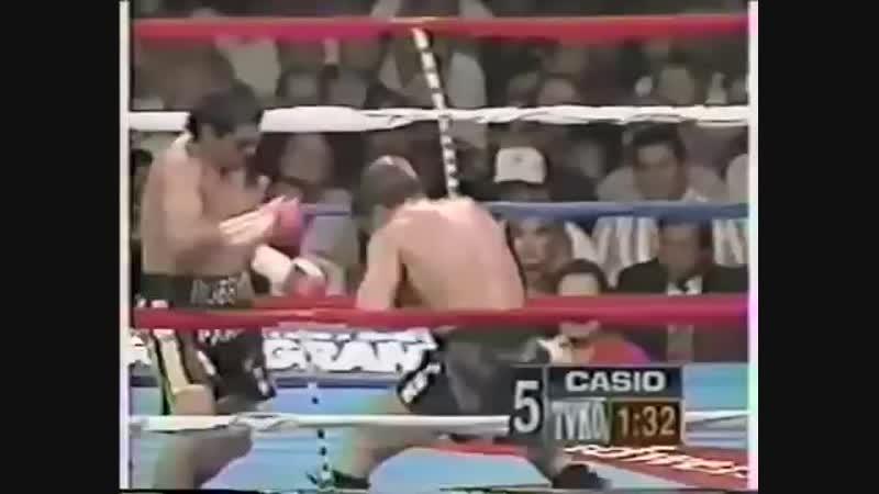 GREATEST ROUNDS IN BOXING Roberto Duran vs Vinny Pazienza 1994 06 25 Boxing