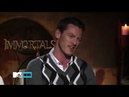 Luke Evans Henry Cavill | 'Immortals' Press Junket