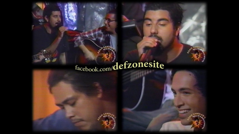 Deftones - Be Quiet And Drive (Far Away), The Joker (Feat. Incubus, Adam Sandler, POD) (Live in MTV, New York, USA 08/11/2000)