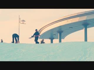 """Сноуборд и горные лыжи в Донецке.Катаемся на """"Виктория-горках"""". """"Медлячок"""""""
